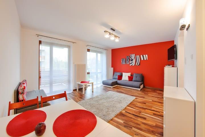 Wczasowa 93 Apartament 3 osobowy