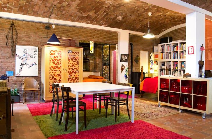 Loft Art Studio in center Sant Cugat - Barcelona