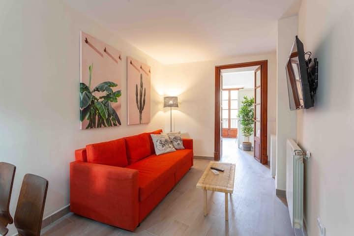 Tranquilo y soleado apartamento junto plaza Mayor