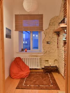 Cozy loft studio in 1860 building - Byt