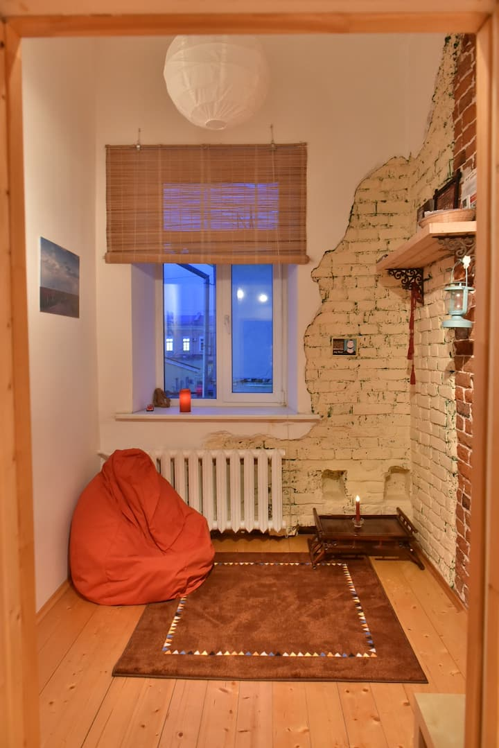 Cozy loft studio in 1860 building