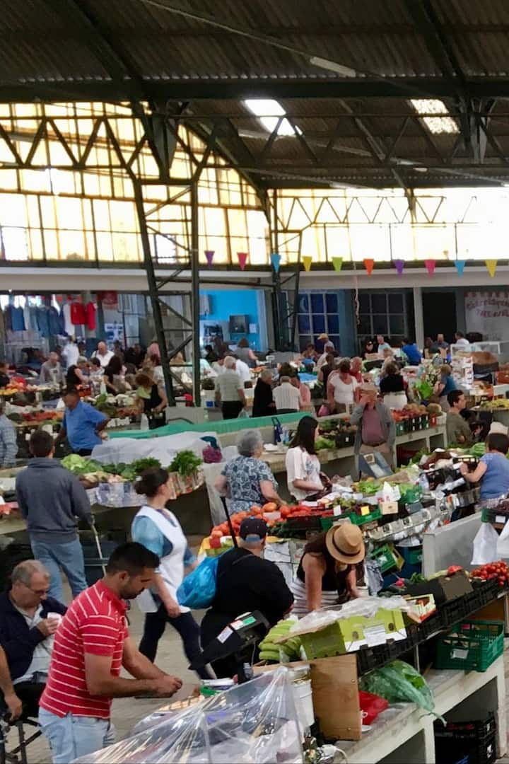 Farmers Market of Nazare