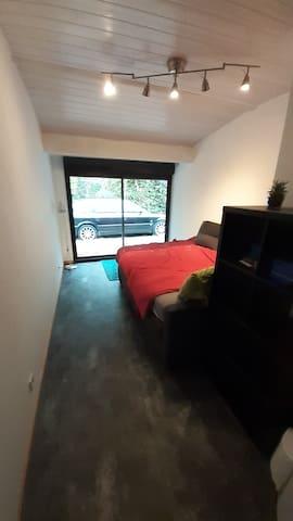 Chambre n°3 avec accès extérieur, vue n°2
