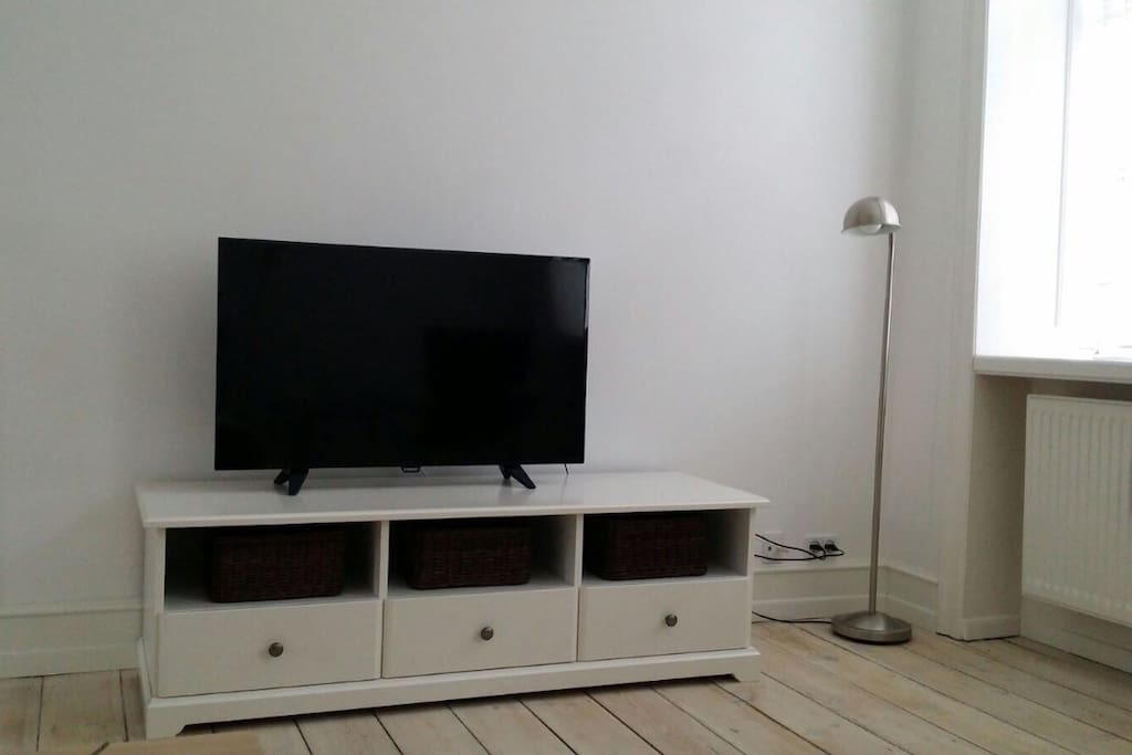 Brand new TV and furniture.