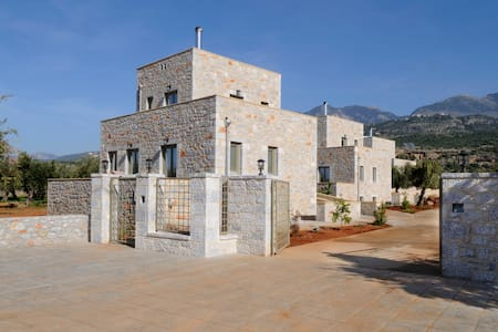 Villa Eftichia in an olive garden - Messinia