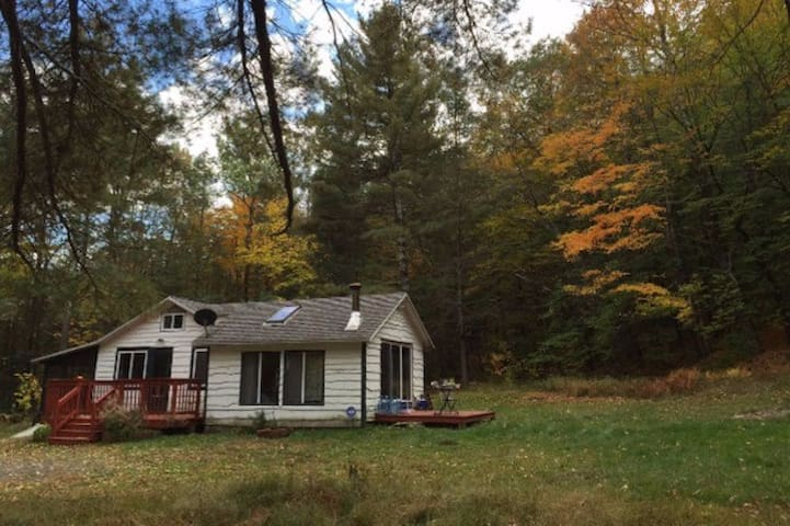 Simple and Comfy Private Catskills Cabin - Kerhonkson - Zomerhuis/Cottage