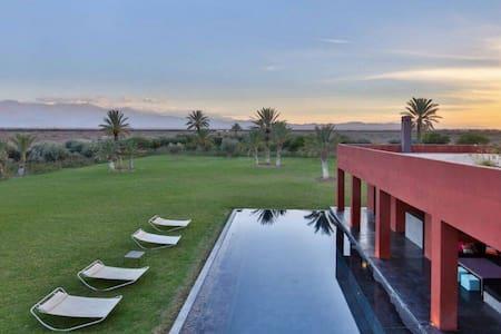 Splendide Villa Contemporaine à Marrakech - Marrakesh - Apartment