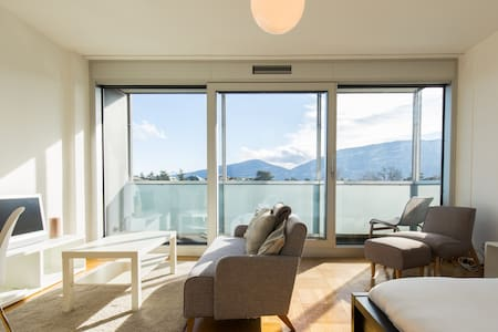 Cosy Studio at 7th Floor in Residential building! - Genève