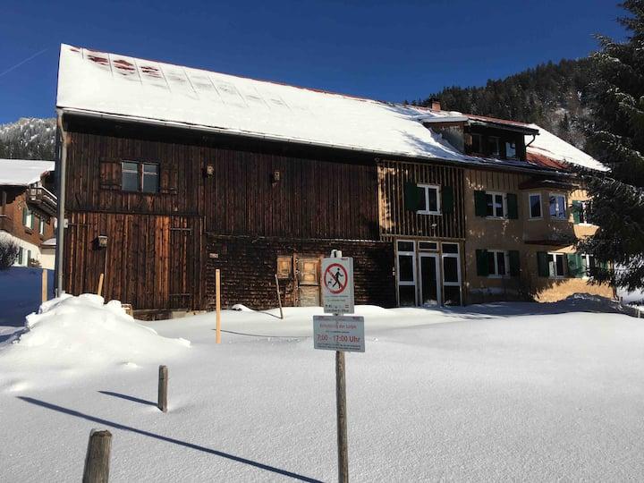 Ferienhof Wäldle 1 EG+OG an der Langlaufloipe