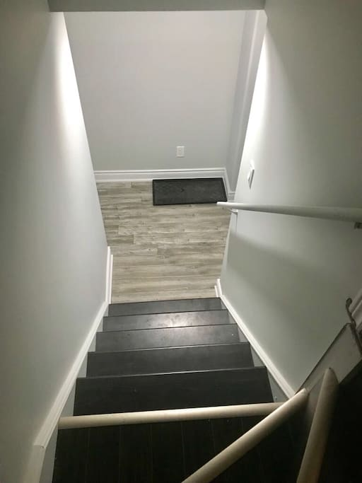 Stairs to the unit