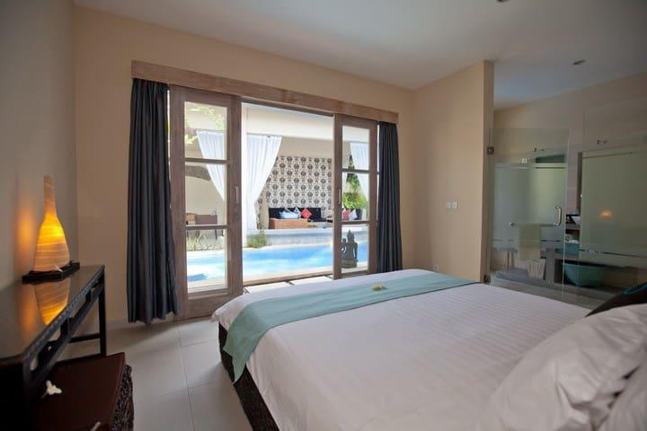 Bedroom Villa Mia (private)
