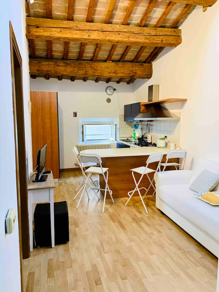 Stanza in trilocale in centro storico a Faenza