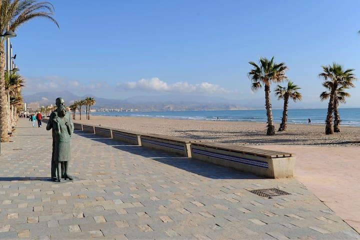 Estudio en Playa de San Juan - Alicante - Daire