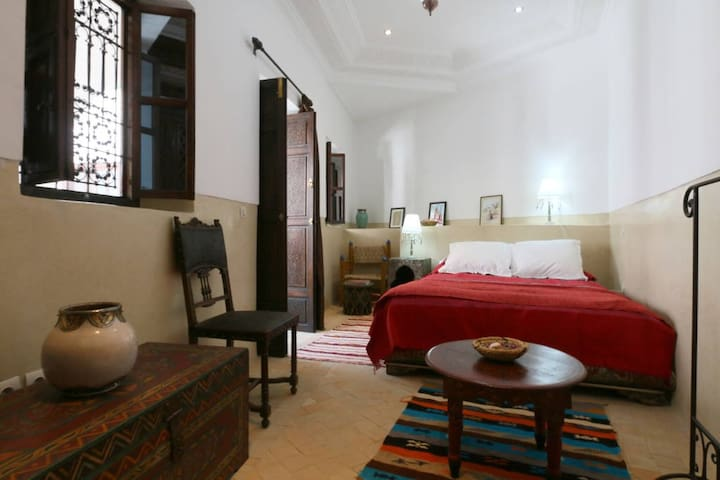 Riad a Marrakech Chambre Ella Maillarj