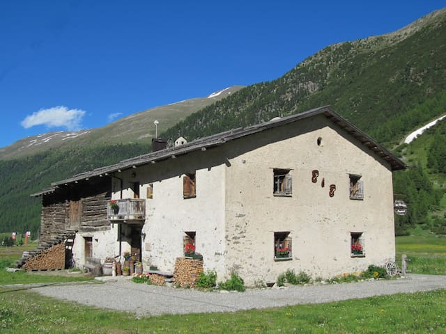 Bed & Breakfast Campaciol, atmosfere d'altri tempi - Livigno - Bed & Breakfast