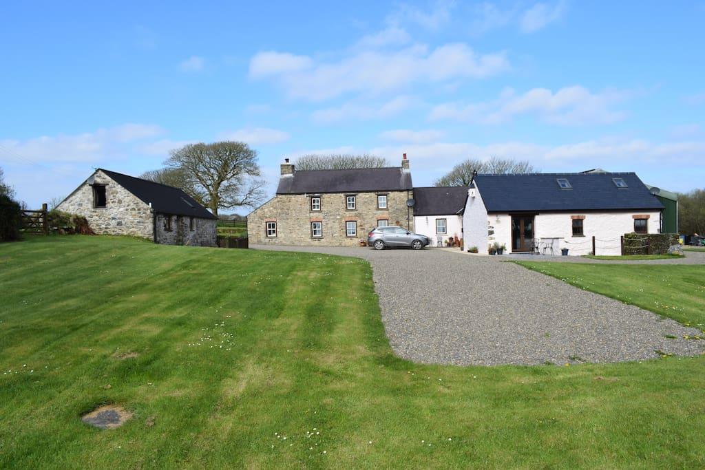 Priskilly Fawr Farm, Mill Barn and Milking Barn