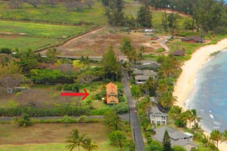 Home on 1/2 Acre Across from Beach; Private - House