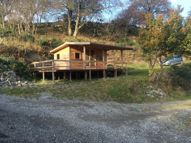 Luxury Welsh Wooden Cabin - Melin-y-Wig - Kabin