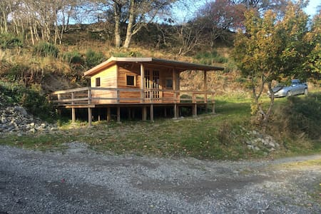 Luxury Welsh Wooden Cabin - Melin-y-Wig