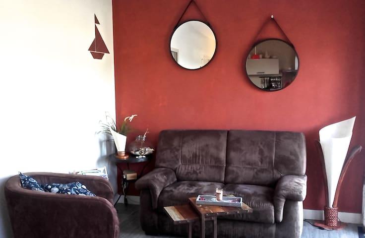appartement dans le Morbihan, presqu'île de Rhuys - Le Tour-du-Parc - Byt