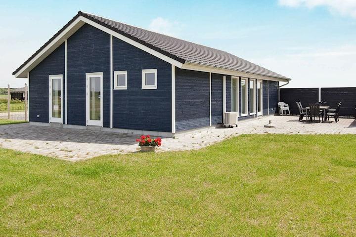 Gezellig vakantiehuis op Seeland met omheinde tuin
