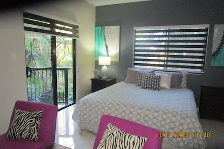 "quiet serenity ""Rippingale"" is cosy and private - Korora - Bed & Breakfast"