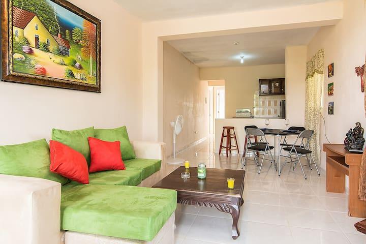 apartamento entero parkin wif aire - Santo Domingo