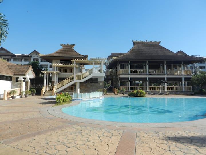 One Oasis Condo - Davao 2XQueen Bed, 2BR & Balcony
