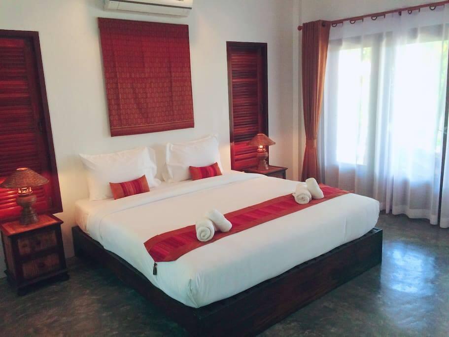 Villa kingsize bedroom