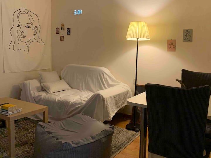 OurHome | 北辰三角洲  跟家一样干净舒适的小公寓 一号线上 湘江边 洲际酒店旁
