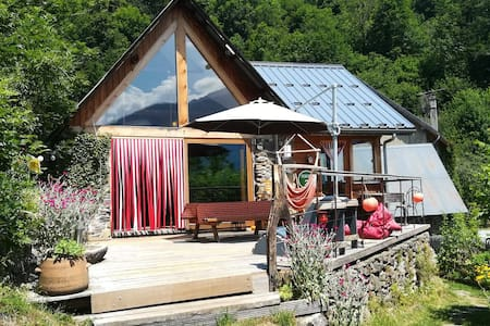 Alpes, peaceful hideaway with panoramic view