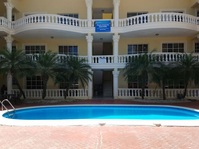 Pool View with Beach Nearby! B-5 - Punta Cana - Apartment