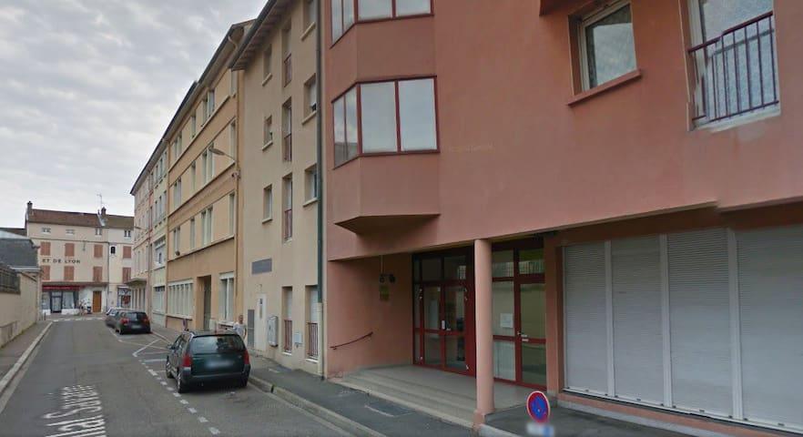 Pratique studio à côté de la gare - Bourg-en-Bresse - Apartment