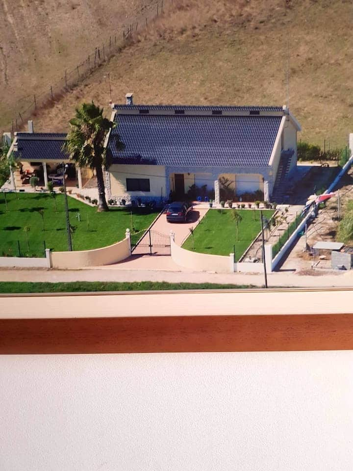 Villa with 2 bedrooms in Poceirao, with wonderful mountain view, enclosed garden and WiFi - 7 km from the beach