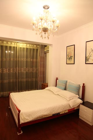 Green Sunny Townhouse: Single bedroom C for rent - Tianjin - Villa