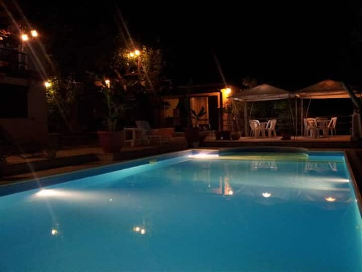 Villa with pool max relax pool.