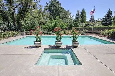 Wine Country Vineyard Estate - Healdsburg - Hus