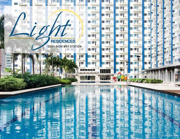 ★StayHere★ SM Light by Boni MRT Free Parking