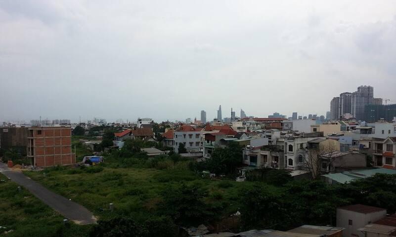 appartement calme, près du centre, belle vue