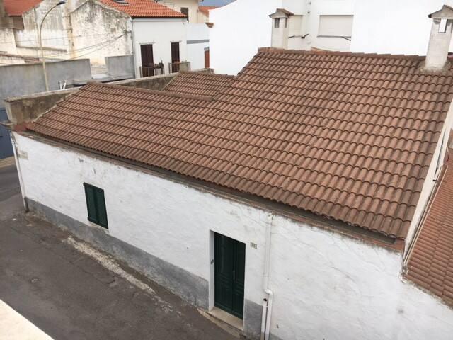 Vista dall'alto dell'abitazione (ingresso su via Regina Elena).
