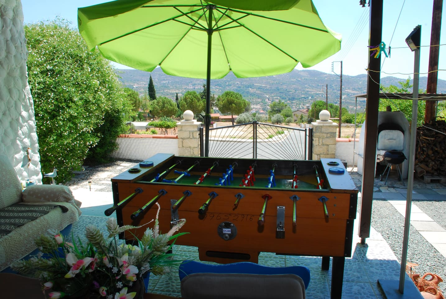 Sport - Table Foodball and View
