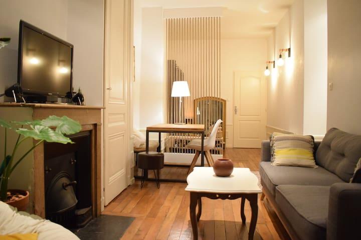 Élégant et confortable T2 du 6ème arrondissement