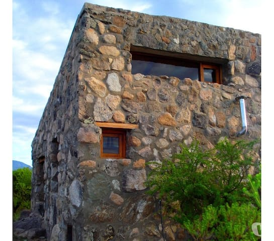 Mountain shelters at Champaquí Hill
