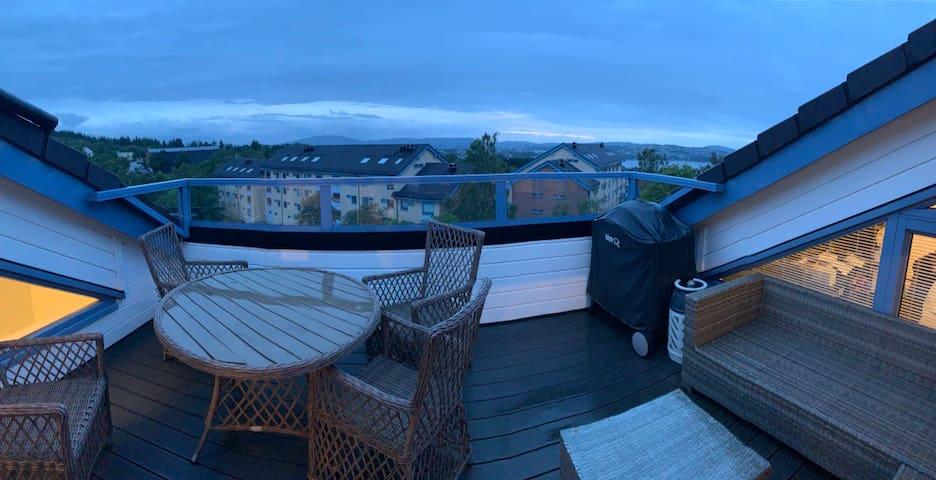 Bergen - Olsvik - Toppleilighet over 2 plan