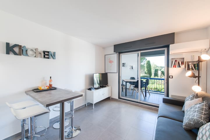 ★Appart Studio du Cap ★ CosyProvence ★ PARKING ★ WIFI ★ CLIMATISATION ★