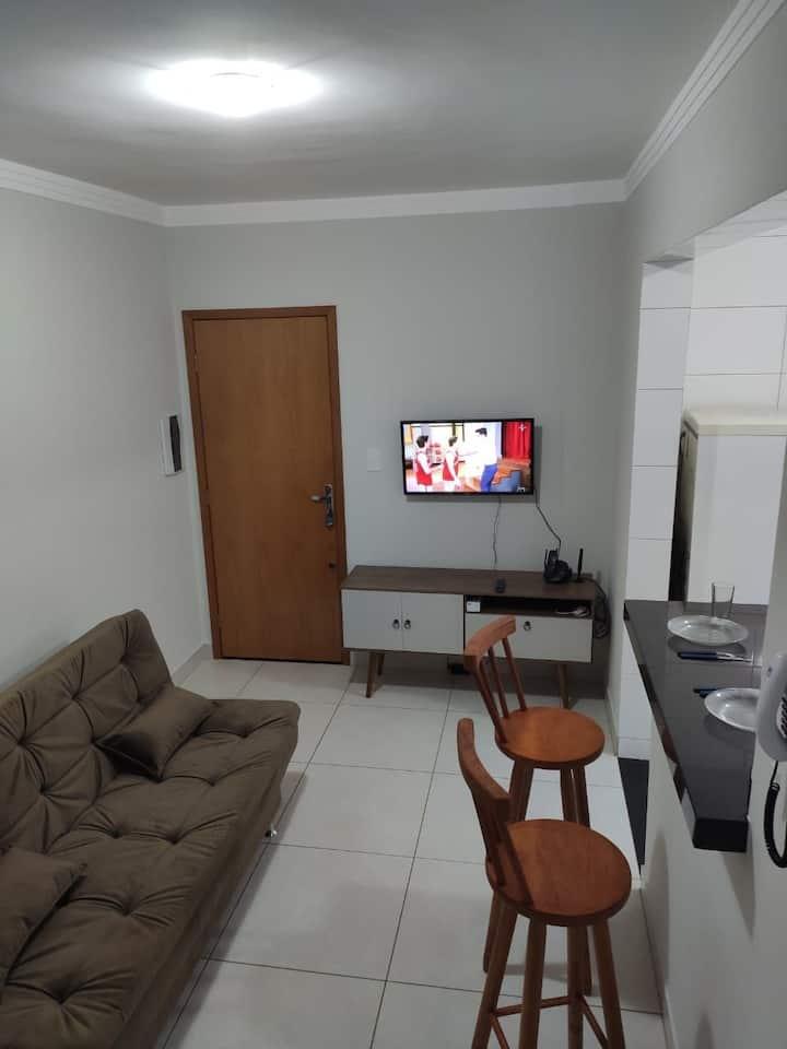 Apartamento novo próximo à UFU/Prefeitura/Shopping