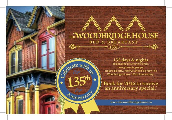 The Woodbridge House a heritage B&B - Kingsville