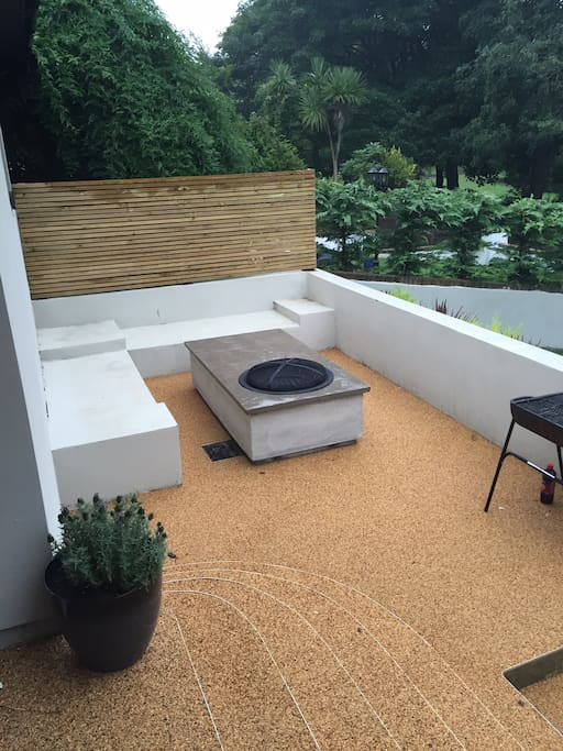 Seating area with views..