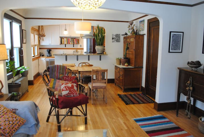 Eclectic Northeast Duplex Unit
