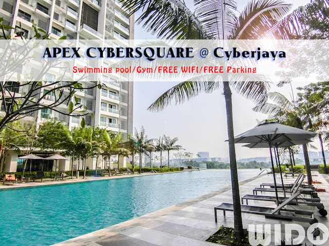 Easy Studio @ Apex Cyberjaya FREE Parking / Guests
